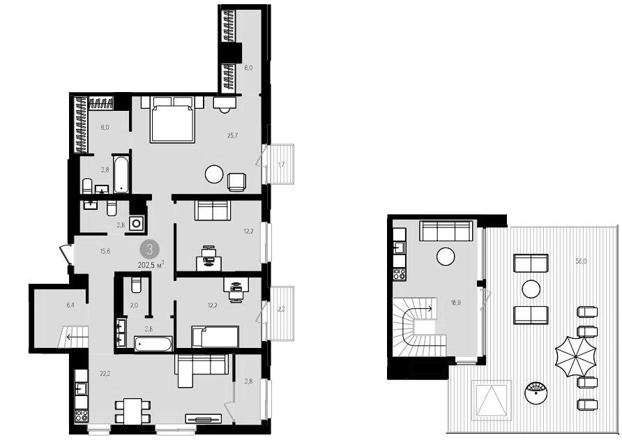 4Е-к.кв, 202.5 м²