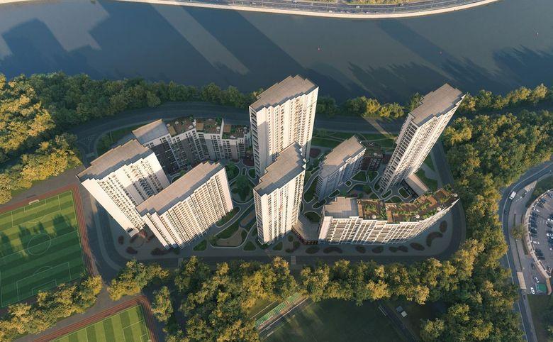 2Е-комнатная квартира, 60.22 м², 16 этаж – 7
