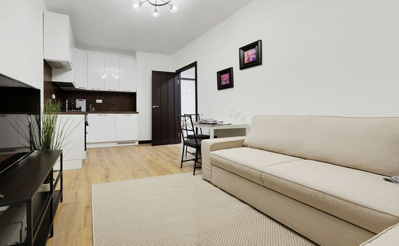 2Е-комнатная квартира, 36.46 м², 2 этаж – 2