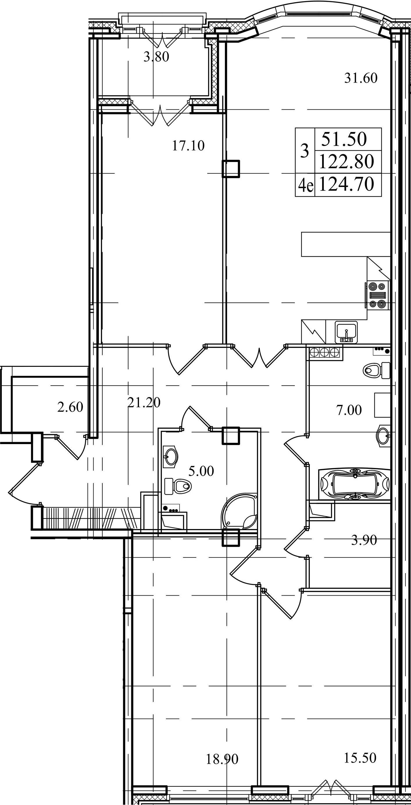 4Е-к.кв, 122.8 м²
