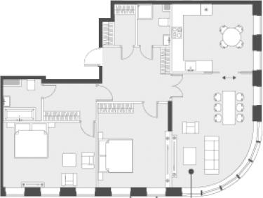 Свободная планировка, 100.2 м²– 2