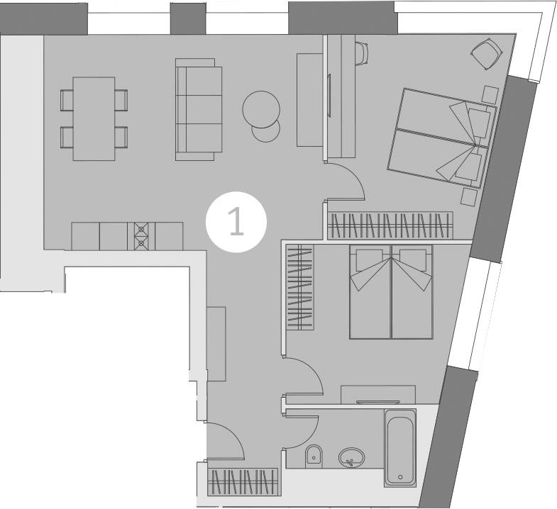 3-к.кв (евро), 68.67 м²