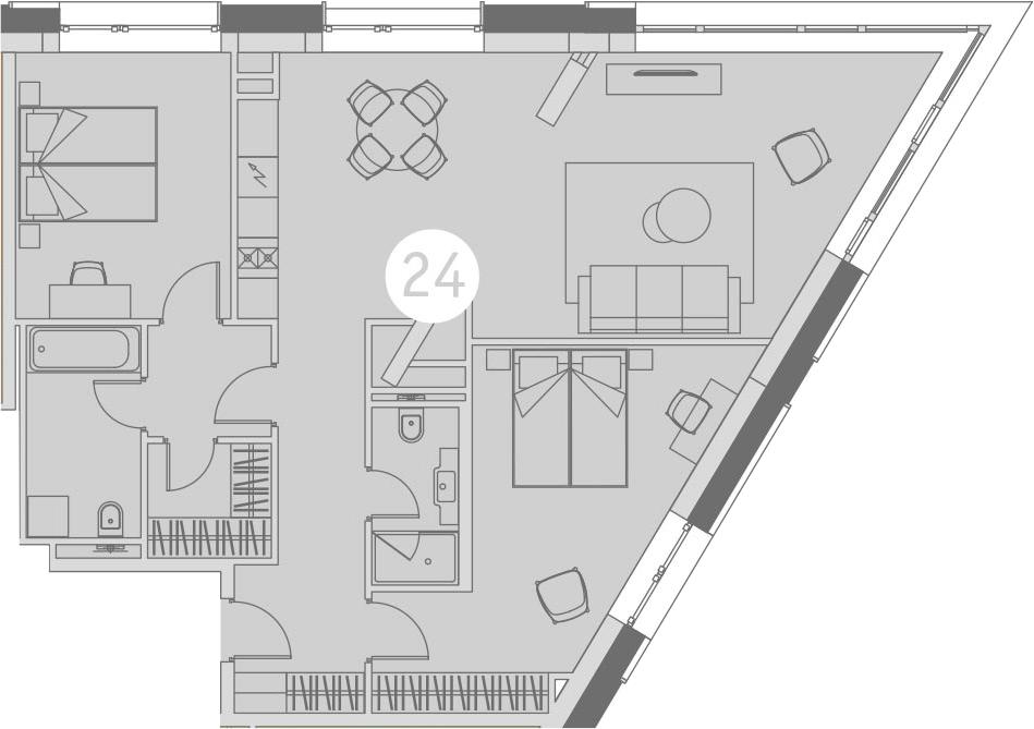 3-к.кв (евро), 89.4 м²