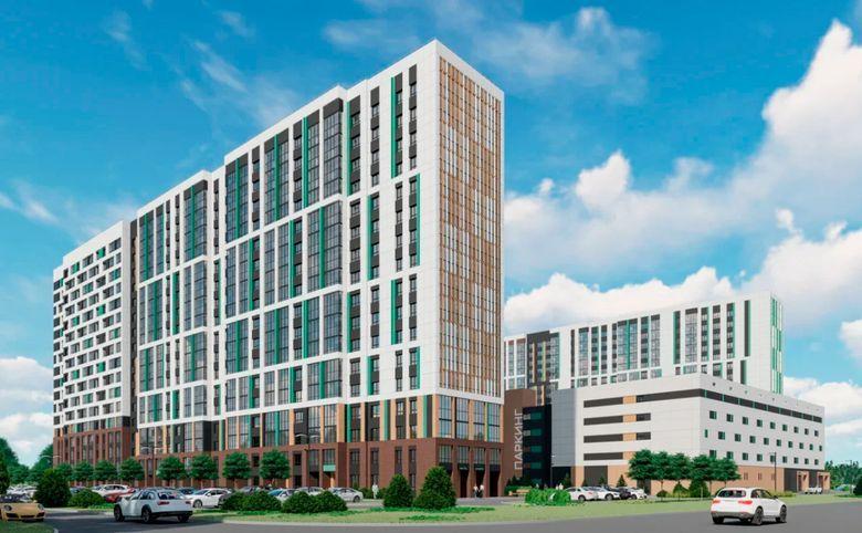 2Е-комнатная квартира, 40.2 м², 11 этаж – 1