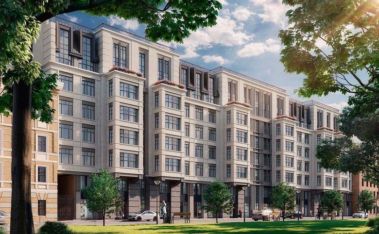 4-комнатная квартира (евро), 111.3 м², 4 этаж – 8