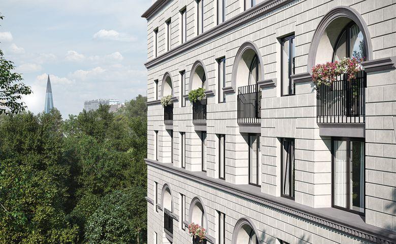 2Е-комнатная квартира, 44.3 м², 2 этаж – 3
