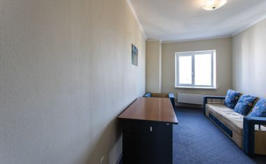 1-комнатная, 38.3 м²– 1
