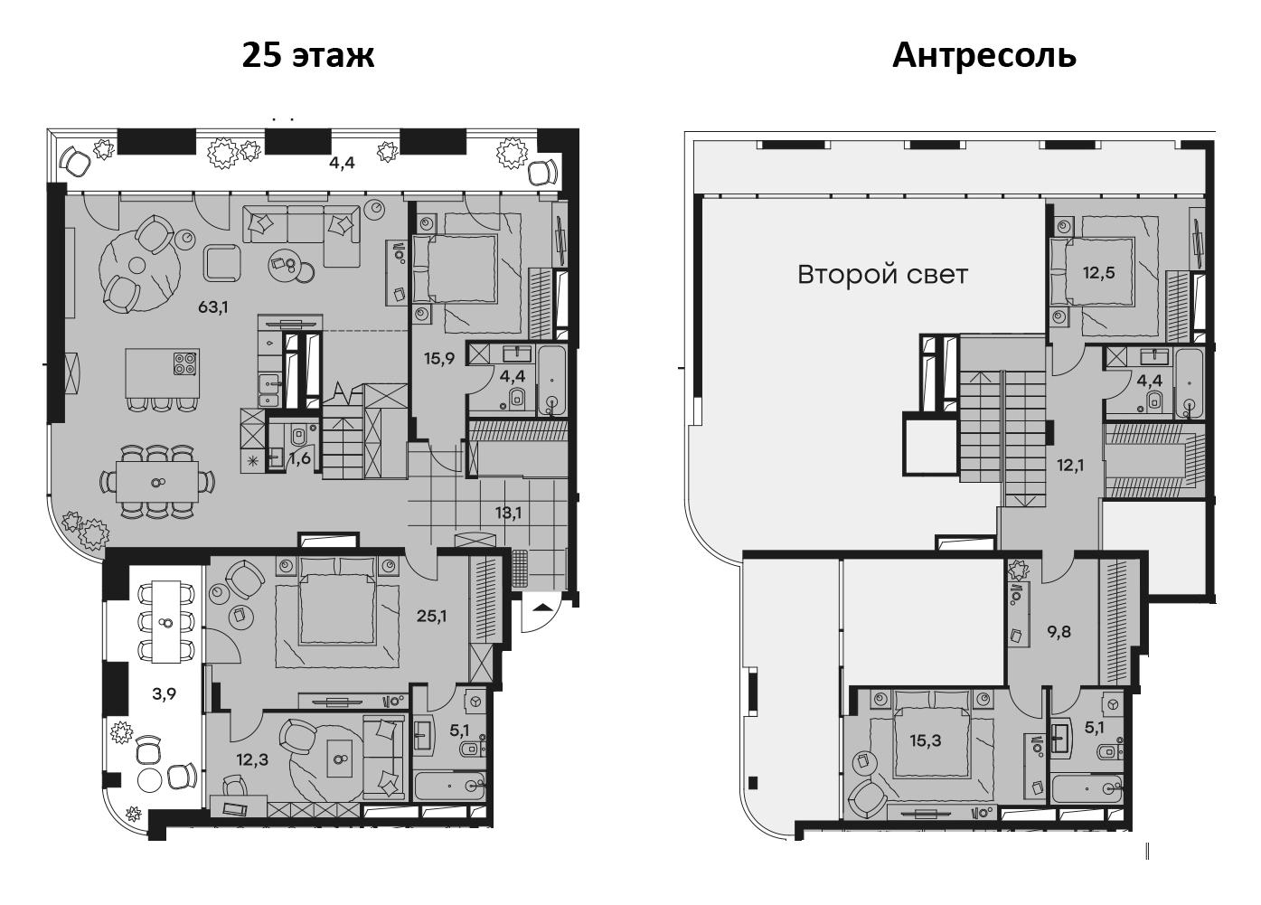 5-к.кв, 208.7 м²