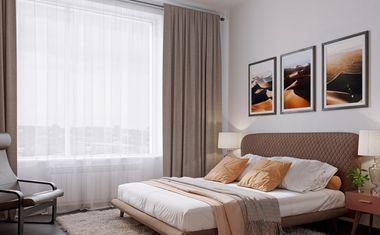 3-комнатная, 78.1 м²– 3