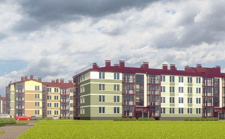 2Е-комнатная квартира, 41.98 м², 4 этаж – 8
