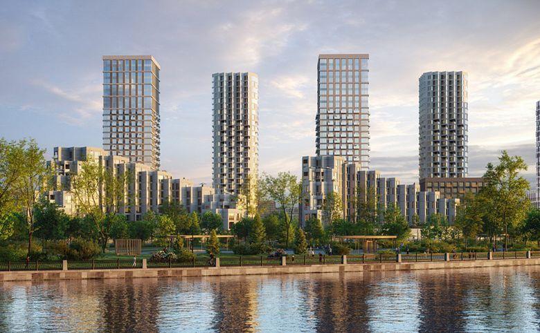 2Е-комнатная квартира, 44 м², 24 этаж – 1