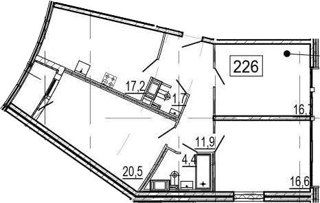 4Е-к.кв, 90.6 м²
