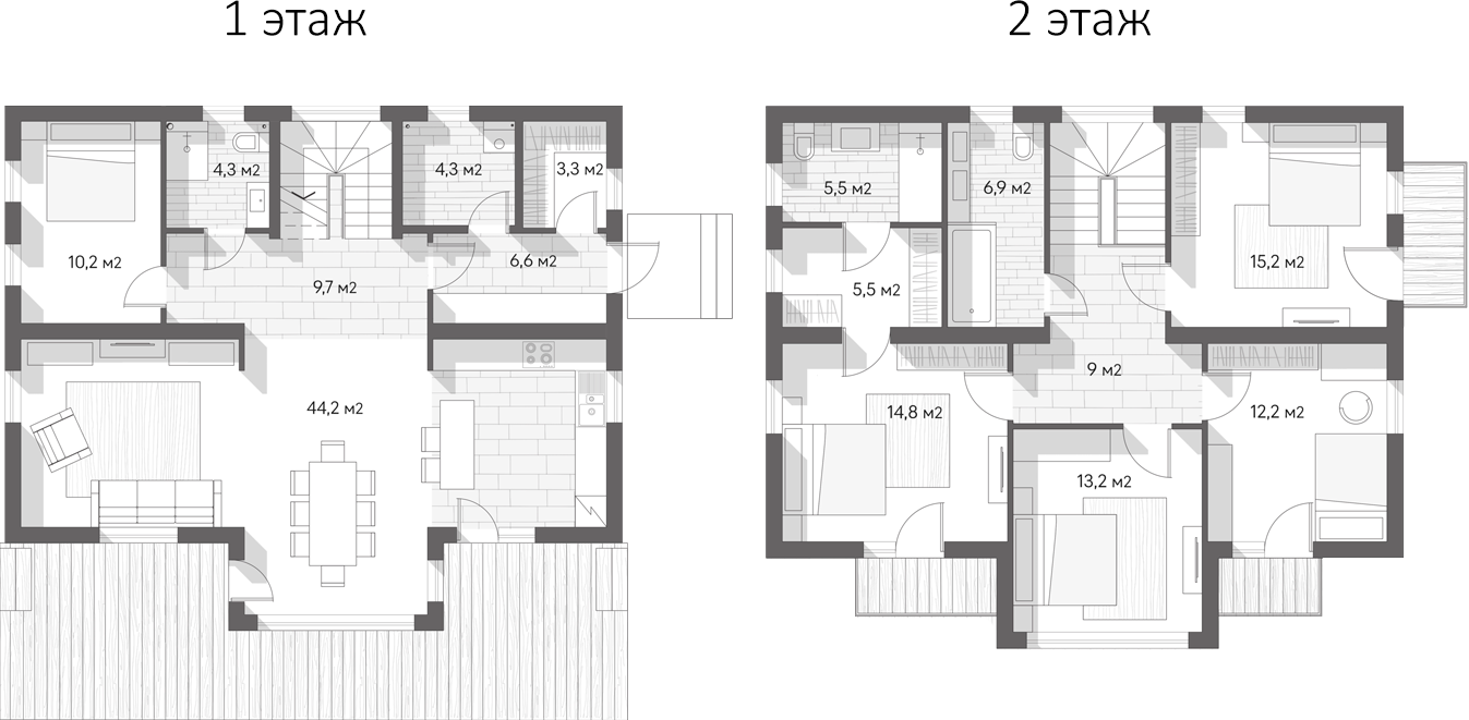 Коттедж, 165 м²
