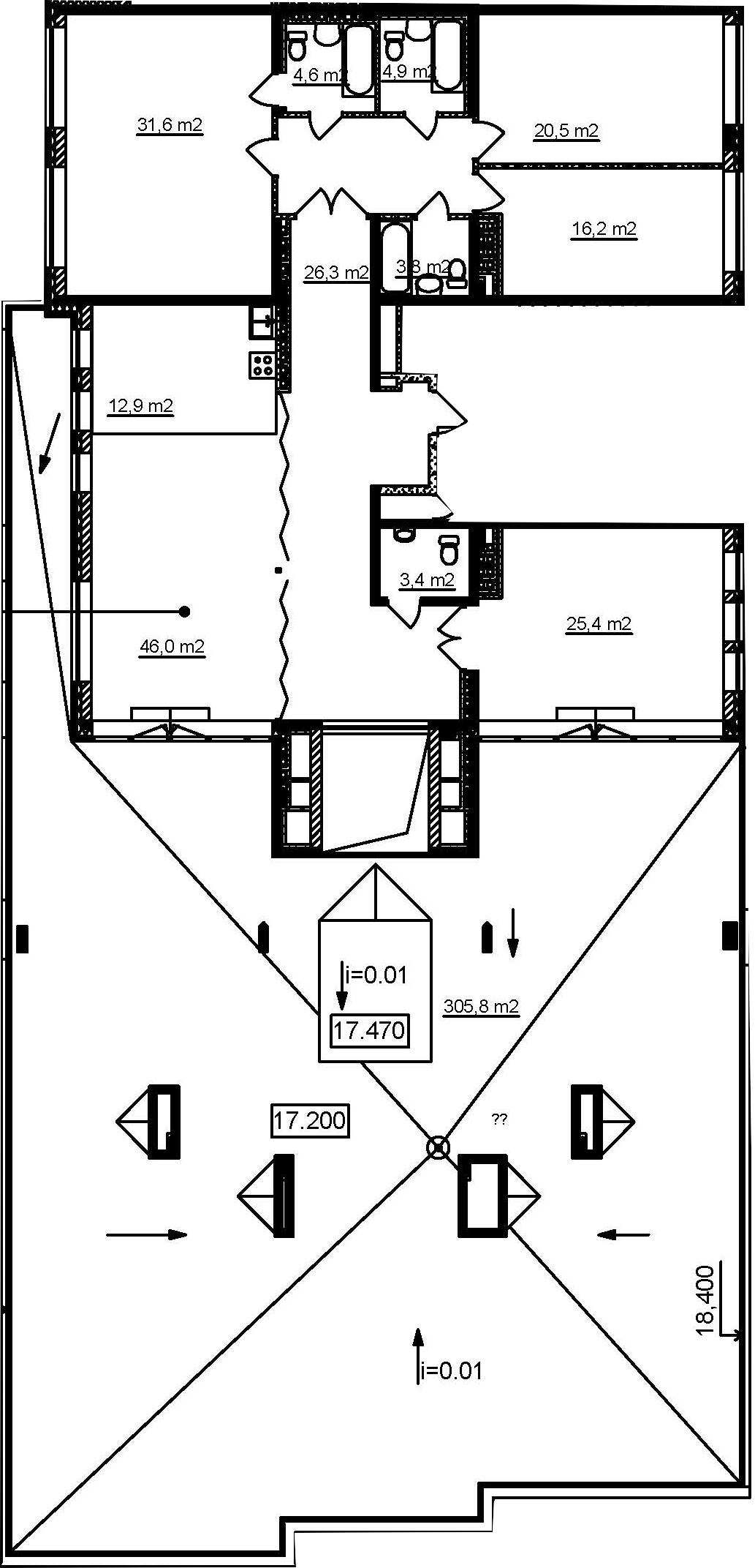 5Е-комнатная, 191.9 м²– 2