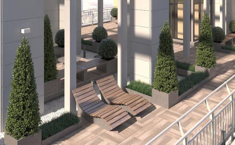 Квартиры с террасами на первом этаже