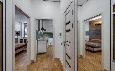 1-комнатная, 42.88 м²– 6