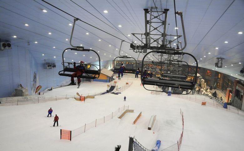 Парк Митино и горнолыжный комплекс «Снежком» в пешей доступности