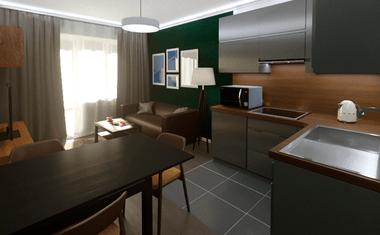 2Е-комнатная, 39.04 м²– 4