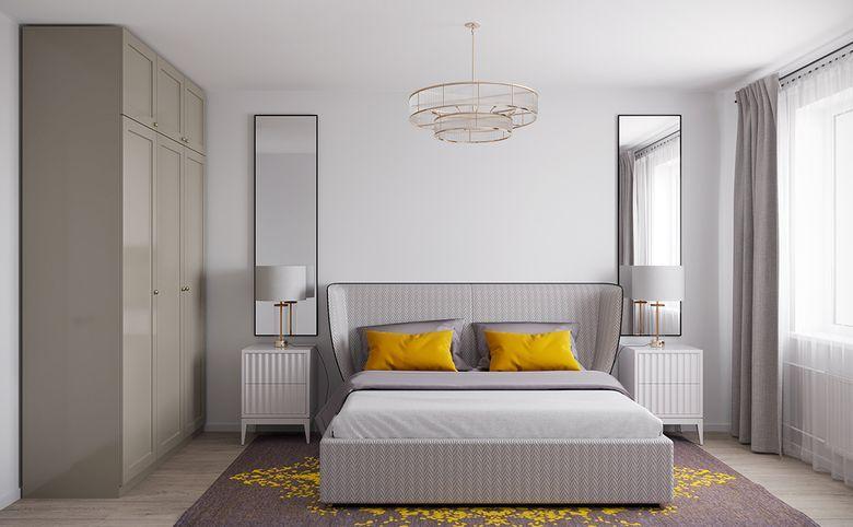 4Е-комнатная квартира, 73.72 м², 9 этаж – 1