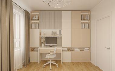 2Е-комнатная, 33.88 м²– 4