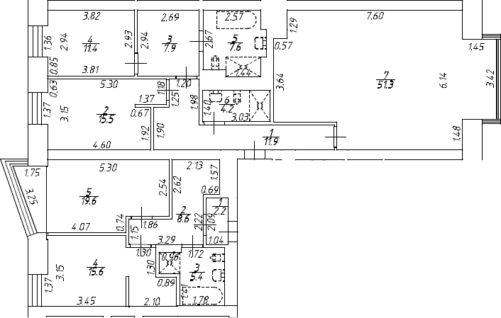 5Е-к.кв, 161.2 м²