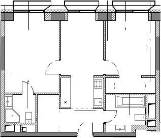 2-комнатная, 59.18 м²– 2