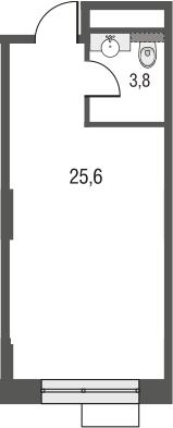 Своб. план., 29.4 м²