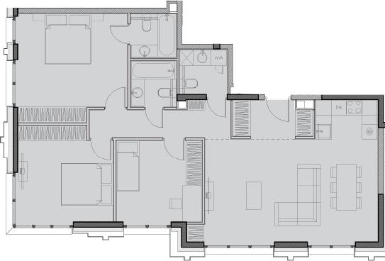Своб. план., 95.5 м²