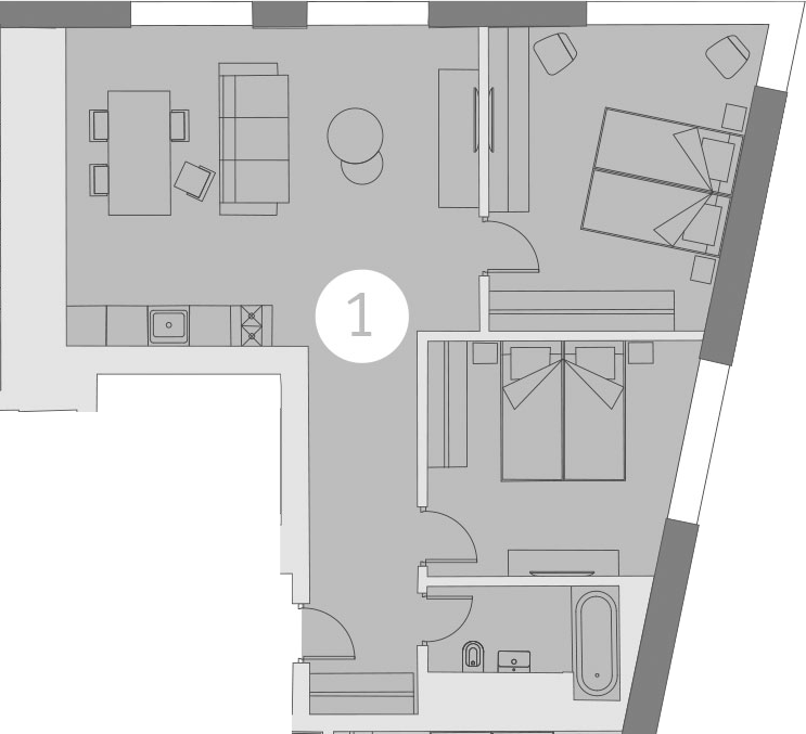 3-к.кв (евро), 69.86 м²