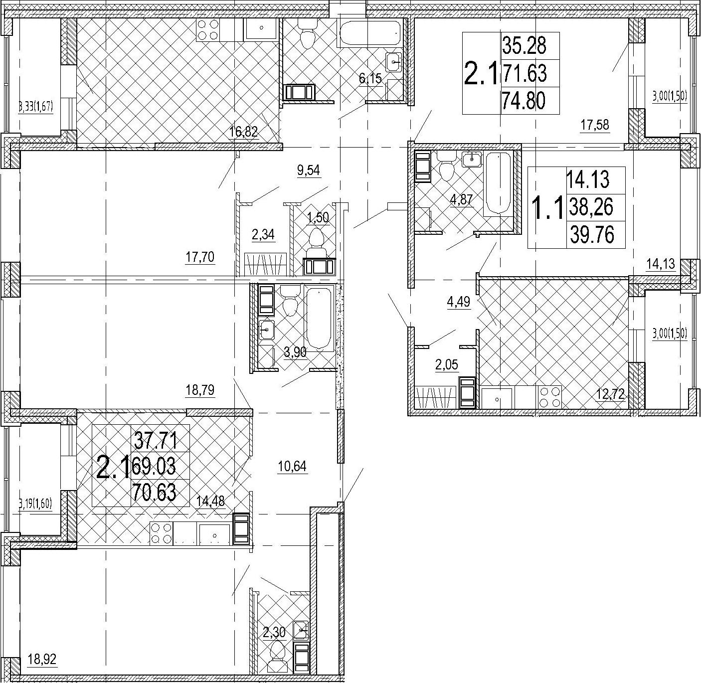 5-к.кв, 185.19 м²