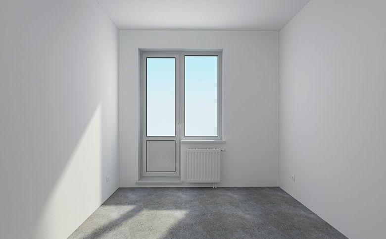 2Е-комнатная квартира, 42.77 м², 2 этаж – 2