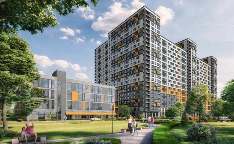 2Е-комнатная квартира, 40.57 м², 22 этаж – 11