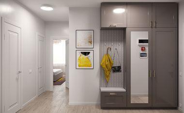 1-комнатная, 36.53 м²– 6