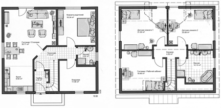 Коттедж, 310 м²– 2