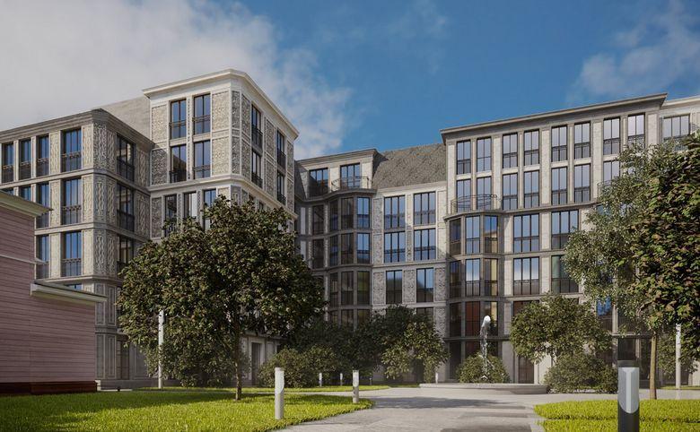3Е-комнатная квартира, 87.82 м², 2 этаж – 6