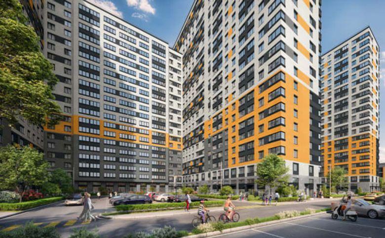 2Е-комнатная квартира, 40.57 м², 22 этаж – 12