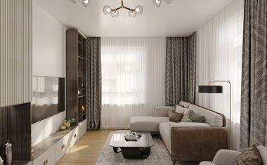 2Е-комнатная, 33.88 м²– 1