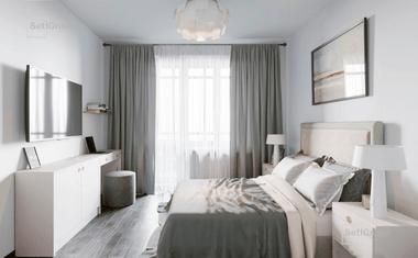 2Е-комнатная, 34.4 м²– 7