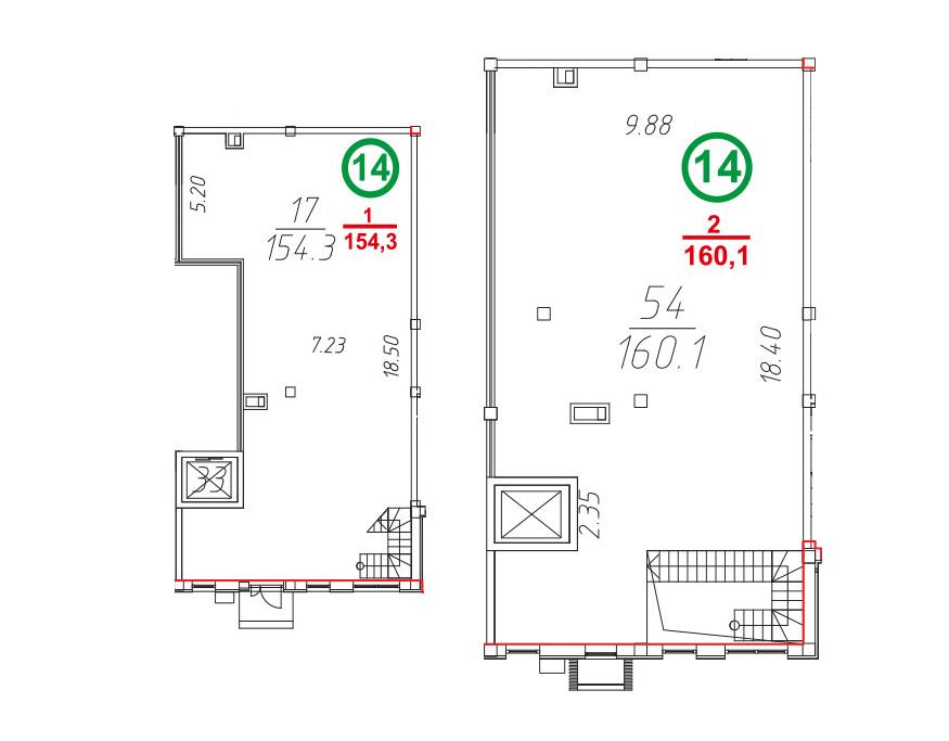 Свободная планировка, 314.76 м²– 2