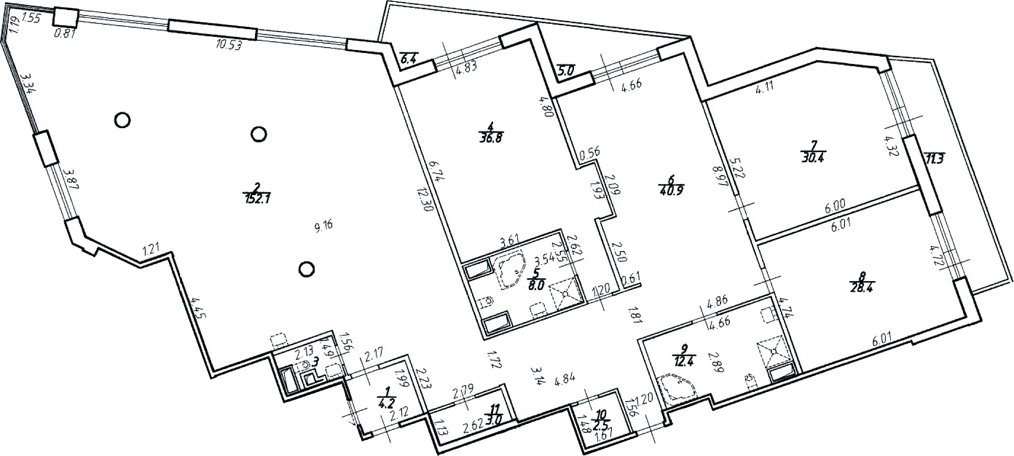 4Е-к.кв, 330.1 м², 10 этаж