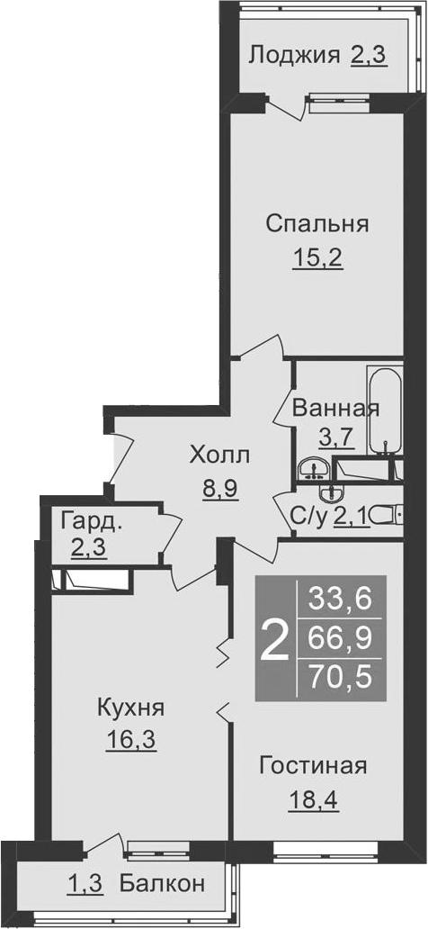 3-к.кв (евро), 75.83 м²