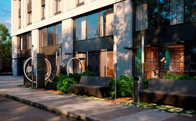 Свободная планировка, 29.9 м², 4 этаж – 3