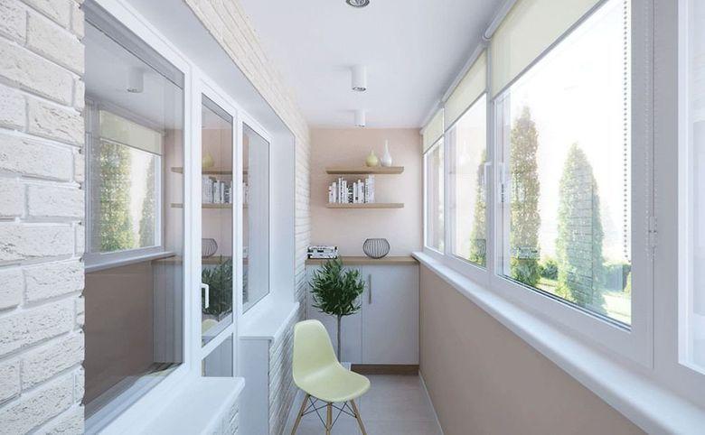 Широкие балконы и лоджии