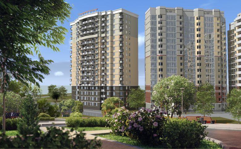 2-комнатная квартира, 56.5 м², 8 этаж – 7