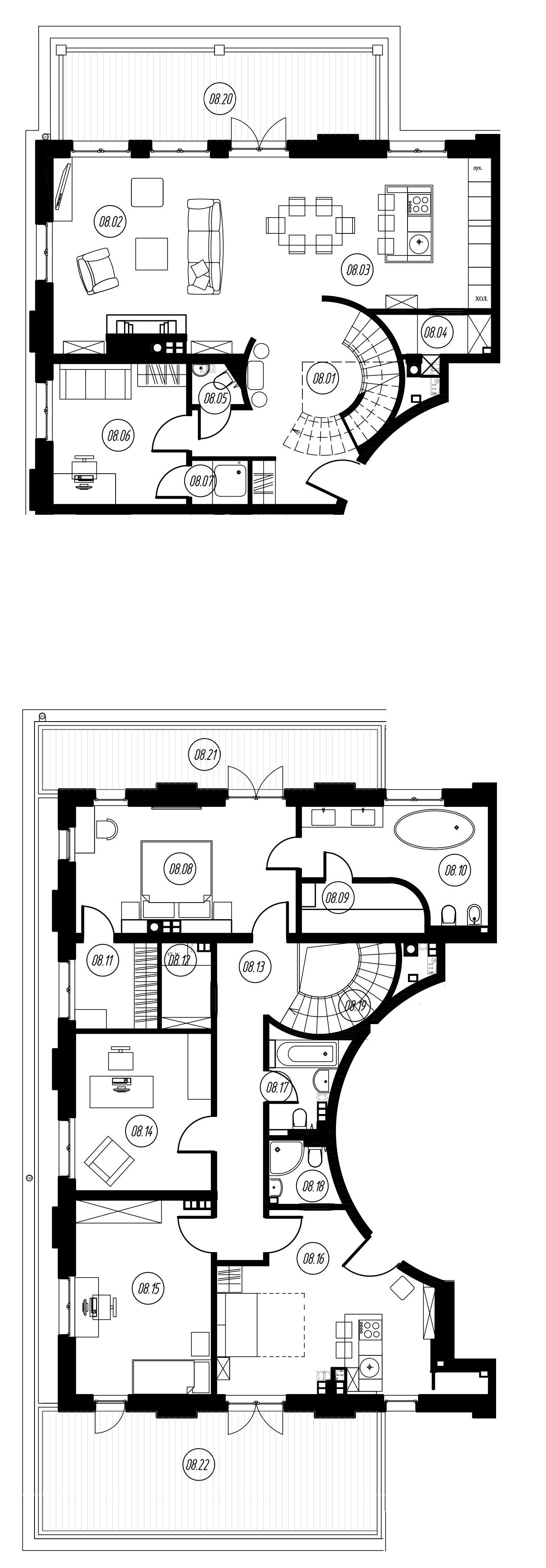 5-комнатная, 194.63 м²– 2