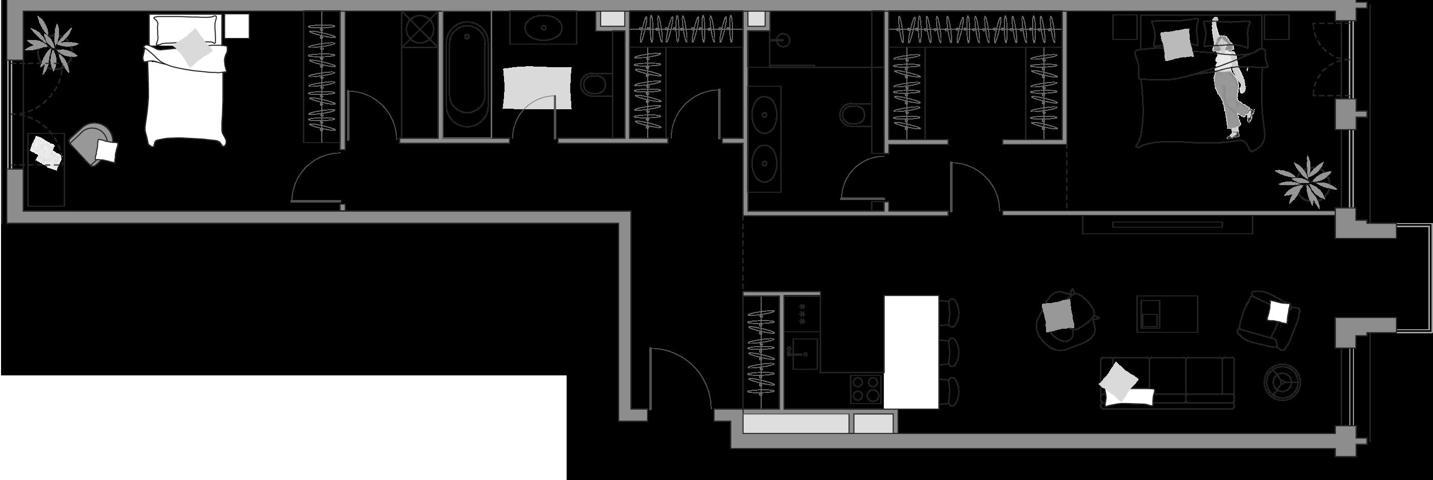 3Е-к.кв, 109.93 м²