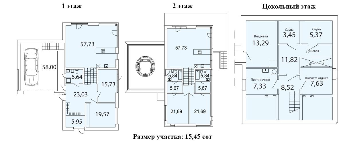 Коттедж, 323.5 м²– 2