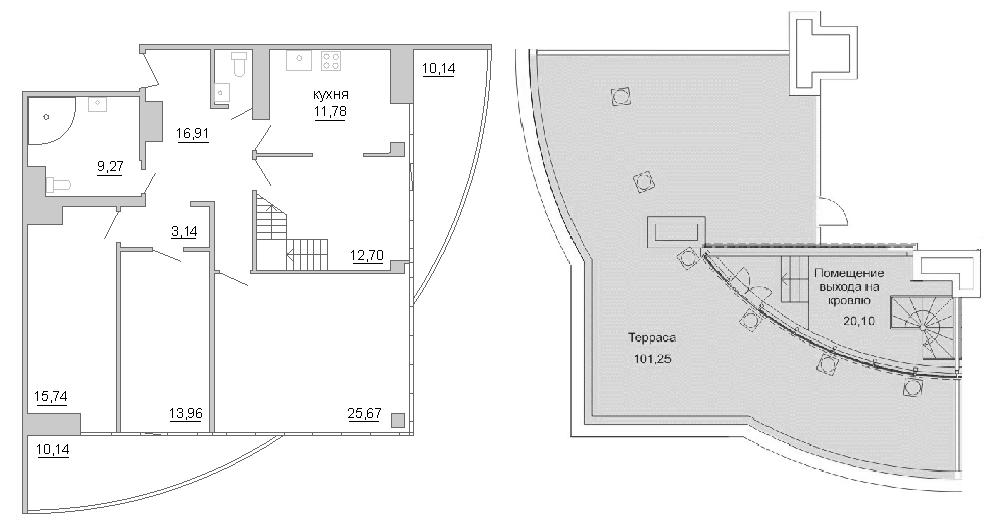 3-к.кв, 282.97 м²