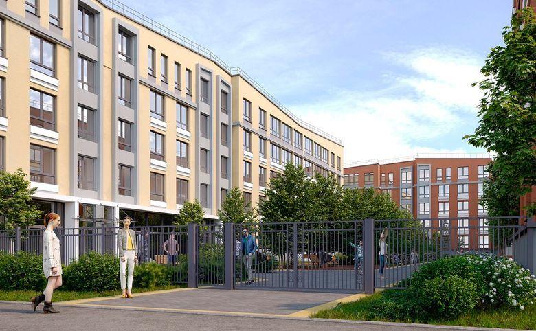 2Е-комнатная квартира, 32.2 м², 1 этаж – 2
