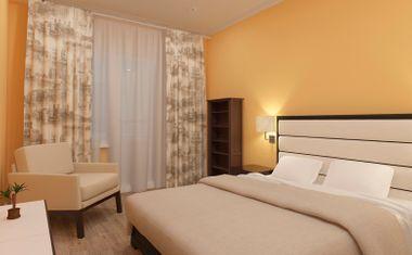 1-комнатная, 41.74 м²– 1